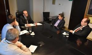 Reunião ocorrida na sede da Fenacon
