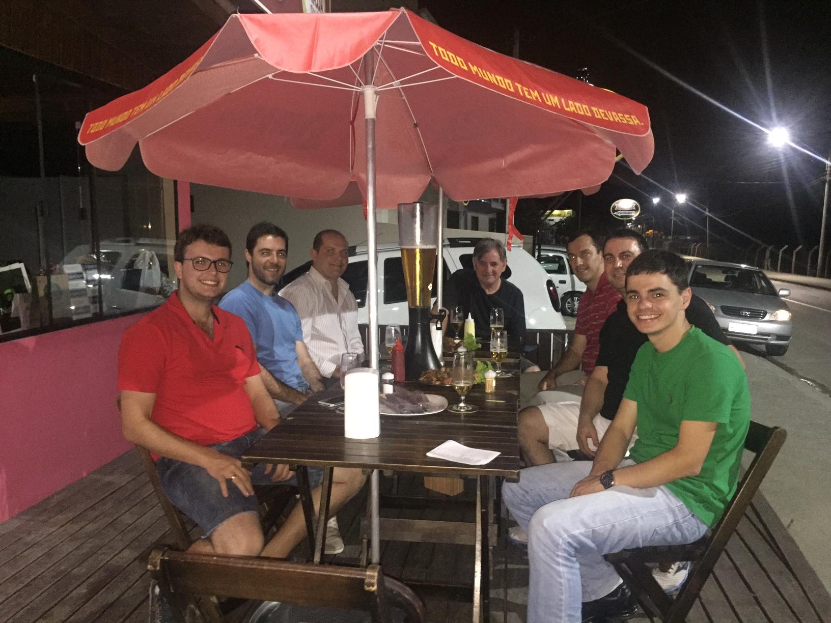 O encontro informal tratou do início da Regional Boca da Serra a partir de janeiro de 2016.