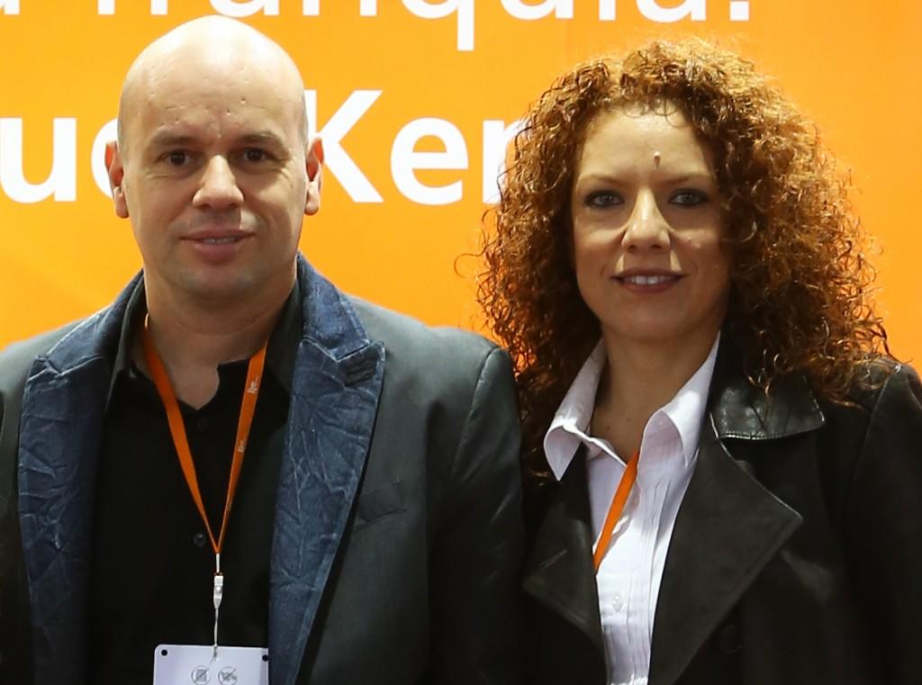 Moraes e Bárbara - Sócios em apenas quatro meses de namoro - Foto: Divulgação