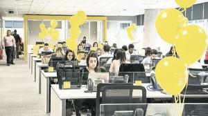 Consultoria EY, deve fechar o ano fiscal de 2016 com um crescimento de 10% no número de funcionários - Foto: Divulgação