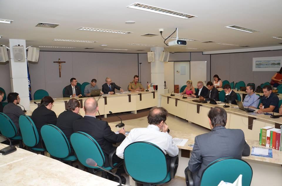 Primeira reunião do ano foi realizada na sede do CRCSC - Foto: Divulgação