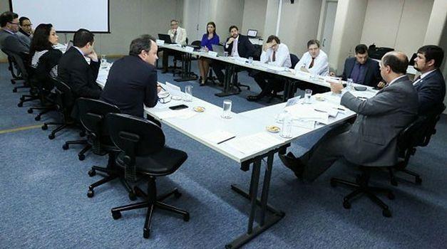Integrado por advogados e assessores legislativos, grupo analisou dois temas: o Processo Judicial Empresarial e as Disposições Finais e Transitórias do Projeto de Lei (PL) nº 1.572, de 2011 - Foto: Divulgação