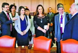 Michel Temer disse que não consegue aprovar medidas. - Foto: Divulgação