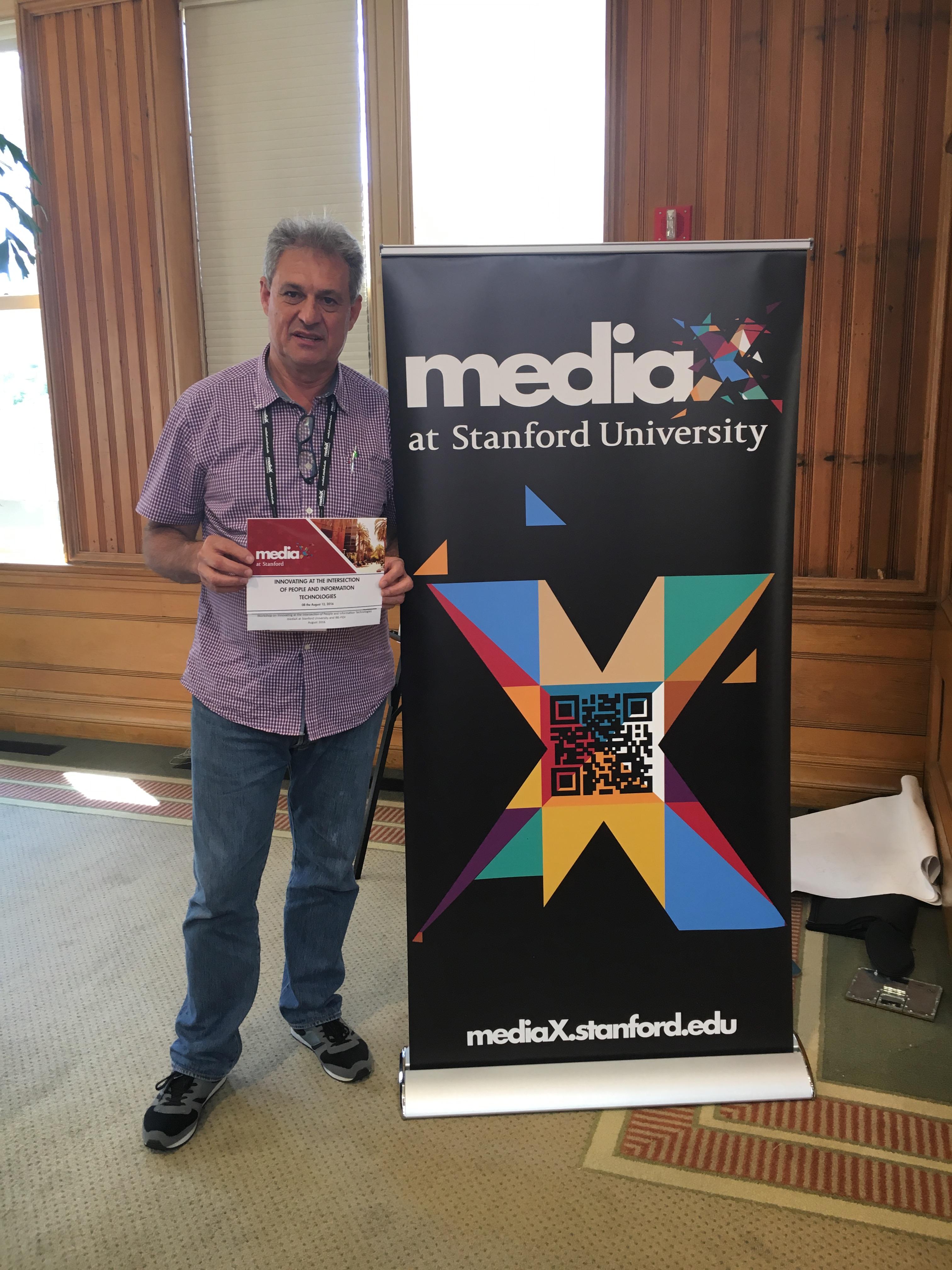 Participante do módulo em Stanford fala sobre a experiência/ Foto: Divulgação