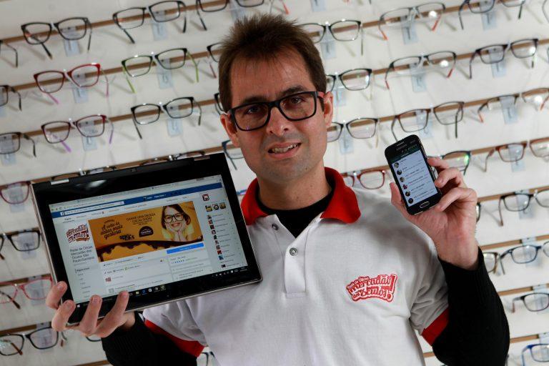 André Ximenes Aragão, franqueado do Mercadão dos Óculos
