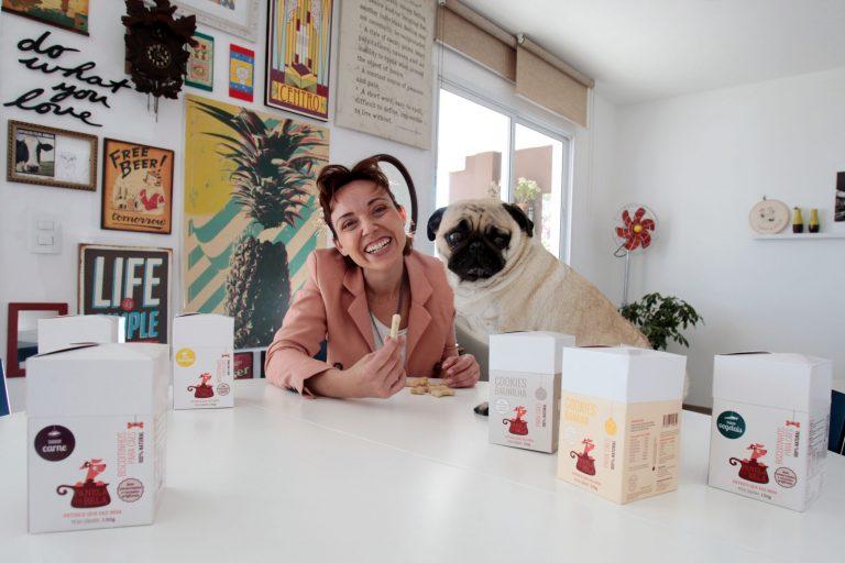Mariana Borges, dona da marca de biscoitos saudáveis para cães Panela da Bela