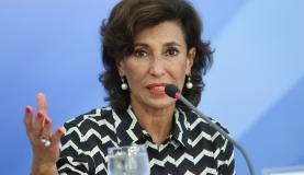 A presidente do BNDES, Maria Silvia Bastos Marques, anunciou linhas de crédito para empresas que precisam de apoio financeiro para ter capital de giro e para empresas em dificuldadesElza Fiúza/Agência Brasil