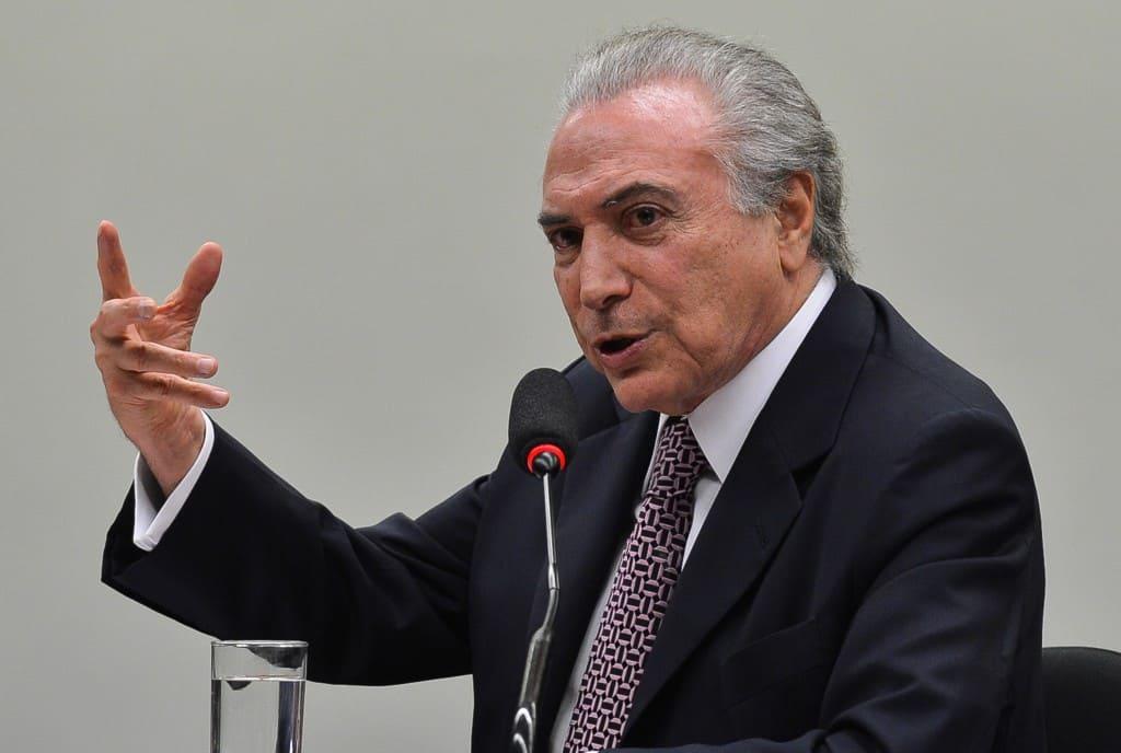O vice-presidente da República, Michel Temer, é o convidado da Comissão Especial sobre a Reforma Política, para falar sobre o tema (Antonio Cruz/Agência Brasil)