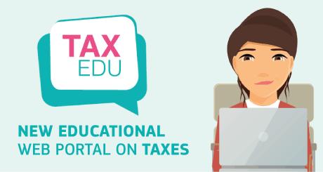 União Europeia lança TAX EDU, inédito portal de educação fiscal