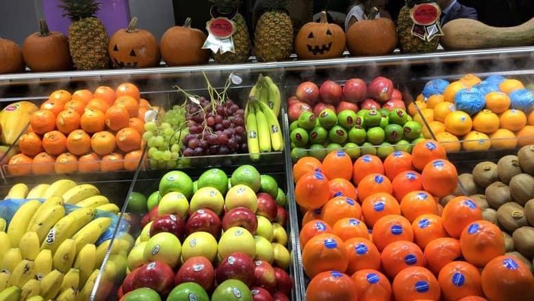 Exportação de frutas cresce 18,3% nos primeiros meses de 2018