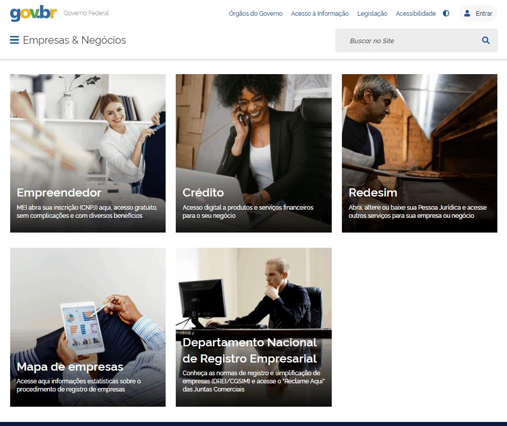 REDESIM muda de endereço e passa a integrar espaço Empresas e Negócios do portal Gov.br